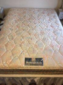 King size mattress, silent night