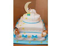 Birthday cakes, wedding cakes, novelty cakes and cupcakes