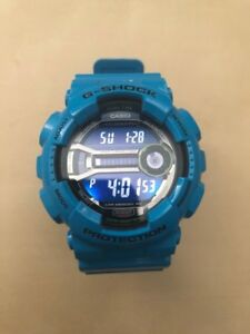 Limited Edition Teal G-Shock Watch with box and manual