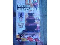 Foundue chocolate fountain