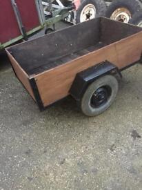 Car trailer. Small trailer
