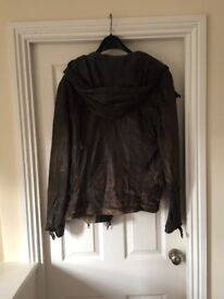 Allsaints real leather jacket