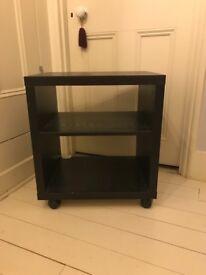 Ikea trolley bedside / tv stand