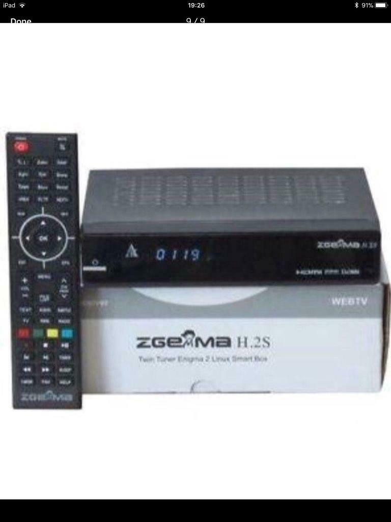 Zgemma h2s with Full iptv HD Box better than Mag Boxes