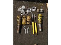 Mk2 Leon golf etc coilovers + spacers