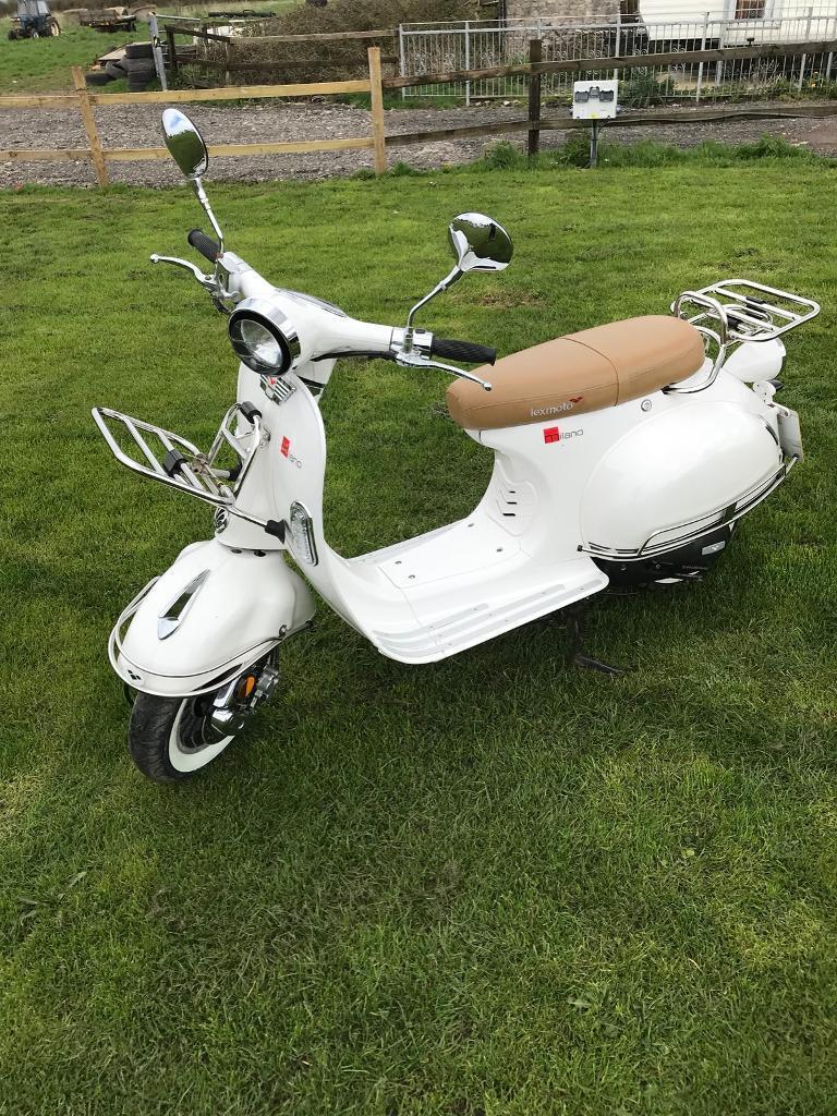 Scooter Lexmoto Milano 50cc
