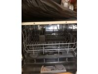 Bosch mini dishwasher only used around 20 times, in new condition, pick up only