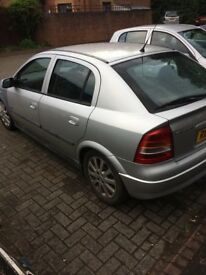 Vauxhall astra sxi 2003