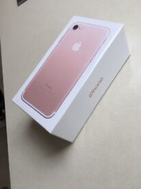 Brand New, Sealed, IPhone 7 32GB, Rose Gold
