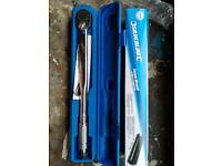 Silverline Torque Wrench never been used.