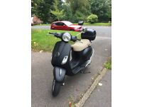 2010 VESPA LX 125cc WITH MOT £1100