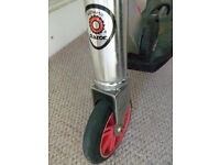 Authentic Razor rift kick scooter - swivel back wheel