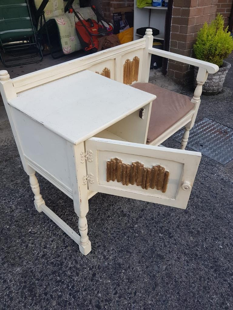 Telephone Tablein County Antrim Annie Sloan Painted Tablegood Condition Perfect For Upcycling Table