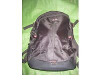 Black Fabric Targus Backpack