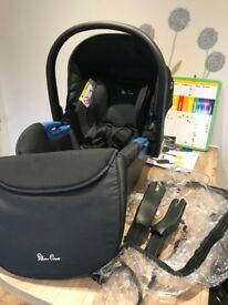 Silvercross car seat with extras