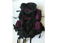 Vaude 50/60 litre rucksack