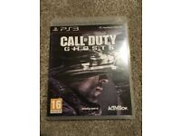 PlayStation 3 PS3 Call Of Duty Ghosts