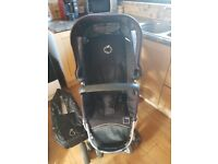 icandy pear & apple double pushchair