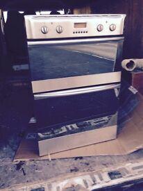 Washing machine, tumble dryer, double oven