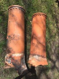 Reclaimed Victorian Chimney Pots