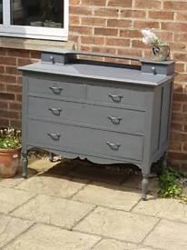 Edwardian dresser drawers