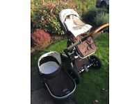 Joolz pram/stroller buggy, monkey brown- great condition