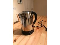 Silver/Chrome Kettle and Toaster Mint Condition