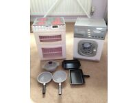 Play cooker and tumble dryer
