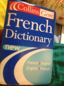 French mini dictionary fab cond