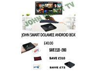 JOHN SMART TV ANDROID TV BOX