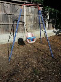 Childs single swing