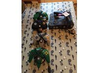 Nintendo 64 with 4 controllers