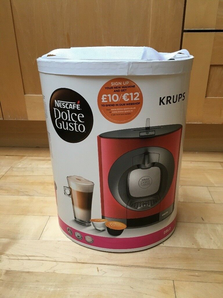 Brand New Red Nescafé Dolce Gusto Oblo Coffee Machine In Clapham Junction London Gumtree