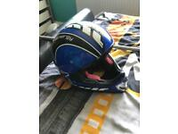 Kids motor cross helmet