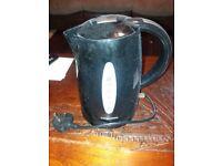Black cook works cordless kettle