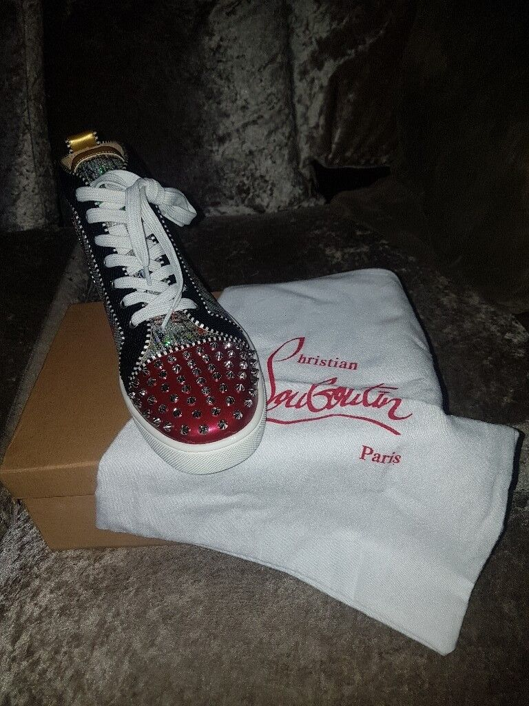 bfb90ee785d mens christian louboutin shoes size 8 brand new in box