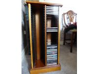 CD Cabinet holds 80 CDs, Yew colour . Offers