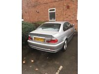 BMW 3 series - Coupe Low mileage, Best car on gumtree 100% first to see will buy!