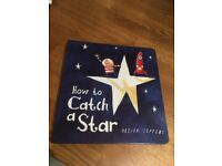 AS NEW How to Catch A Star hardback book by Oliver Jeffers (RRP £6.99)