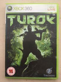 Xbox 360 game (Turok)