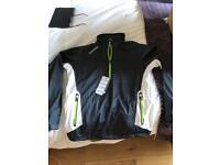 Men's Golf Waterproof Jacket, NEW