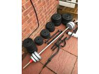 Vinyl weights - ideal for beginner