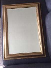 BEAUTIFUL GOLD MIRROR FOR LOUNGE, BEDROOM OR HALLWAY