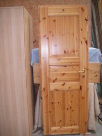 Pine Panel Door & frame