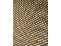 Tan & Beige Hand Made Woven Leather Piece 1000mm x 600mm