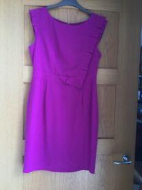 Ladies Cerise Dress size 12