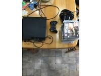 PS3, one controller, 13 games and turtle beach headset