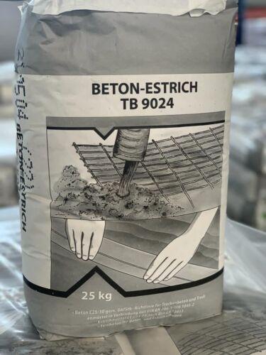Estrichbeton Betonestrich Estrich Feinbeton Beton Bodenheizung Geeignet 25 Kg
