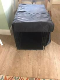 Dog cage and cover