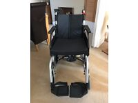 "Enigma X52 Transit 18"" wheelchair with Deluxe Power stroll S Drive"
